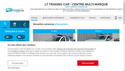 Site internet de Lt Trading Car