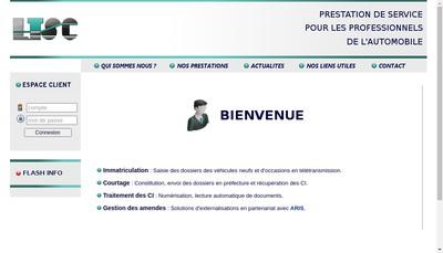 Site internet de SARL Ltsc