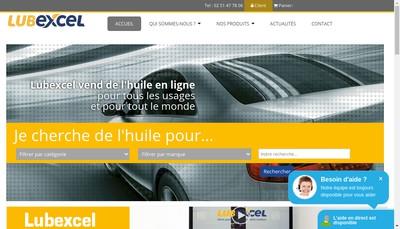 Site internet de Lubexcel