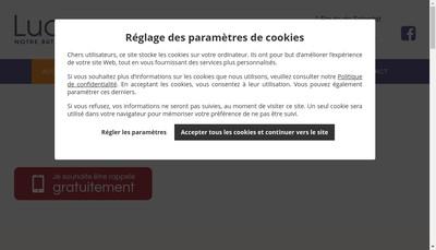 Site internet de Lucarne