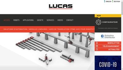 Site internet de Lucas France