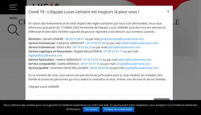 Site internet de Lucas Lemaire