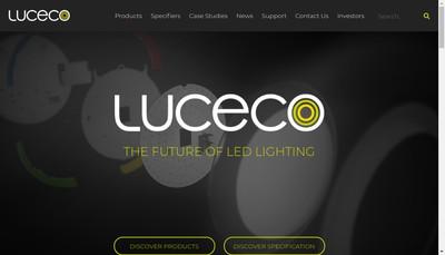 Site internet de Luceco SAS