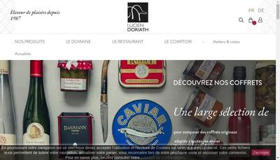 Site internet de Lucien Doriath