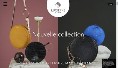 Site internet de Lucienne Paris