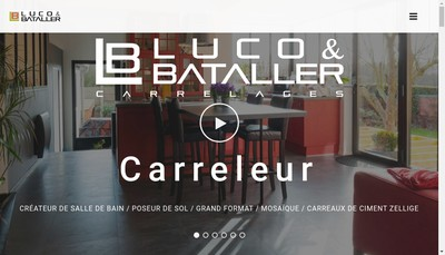 Site internet de Luco & Bataller Carrelages