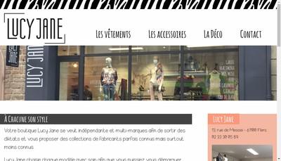 Site internet de SARL Lucy Jane