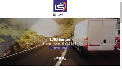 Site internet de Ludo Services