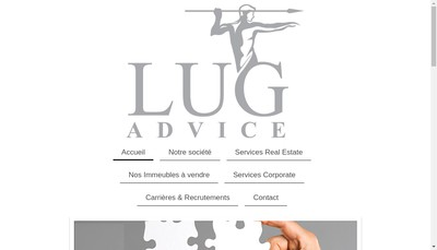 Site internet de Lug Advice