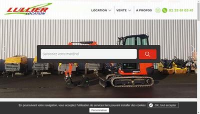 Site internet de Etablissements Lullier