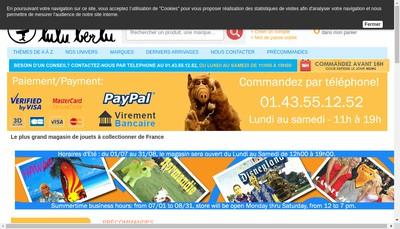 Site internet de Premiere Ligne - Mexx