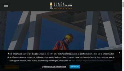 Site internet de Lumen