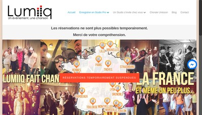 Site internet de Lumiiq