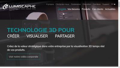 Site internet de Lumiscaphe