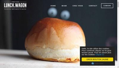 Site internet de Lunch Wagon