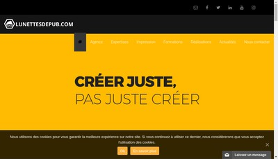 Site internet de Agence Ldp