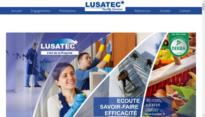 Site internet de Lusatec