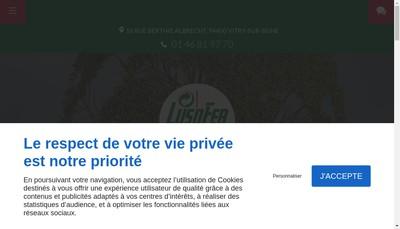 Site internet de Groupe Vessiere Recuperation et Rec