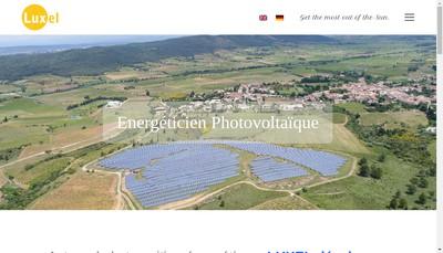 Site internet de Luxel