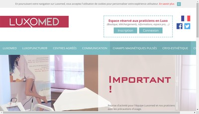Site internet de Luxomed