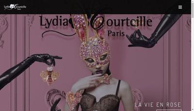 Site internet de L Courteille Creations