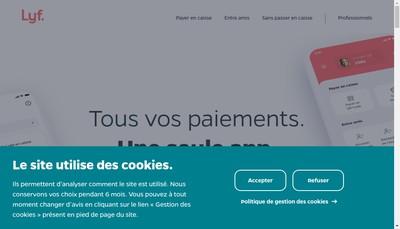 Site internet de Lyf SAS