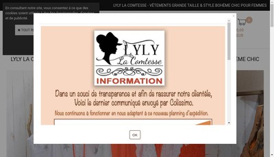 Site internet de Lyly la Comtesse