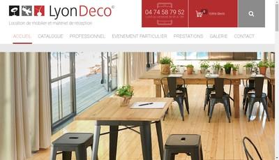 Site internet de Lyon-Deco