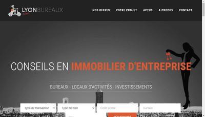 Site internet de Lyonbureaux