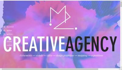 Site internet de M2 Event