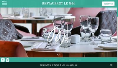 Site internet de Le M 64