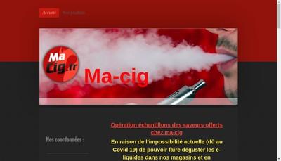 Site internet de Ma-Cig