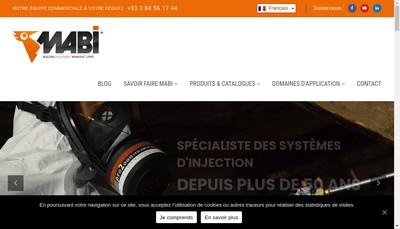 Site internet de Mabi