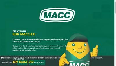 Site internet de MACC