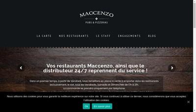 Site internet de Maccenzo
