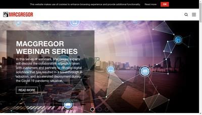 Site internet de Macgregor France