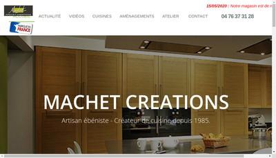 Site internet de SARL Machet Creations
