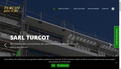 Site internet de Turcot Pere et Fils