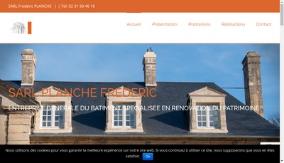 Site internet de Societe Planche