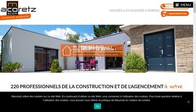 Site internet de Macobois - Eliome