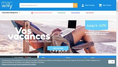 Site internet de Mac Way