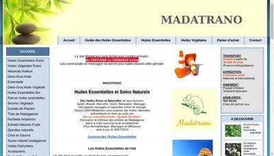 Site internet de MADATRANO