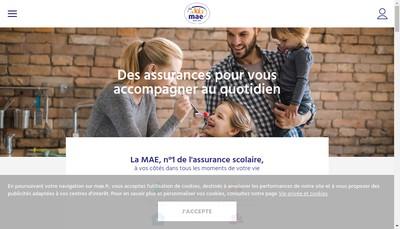 Site internet de MAE