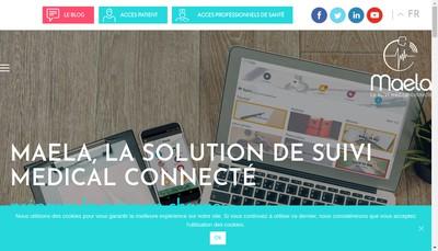 Site internet de Maela
