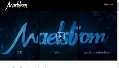 Site internet de Maelstrom Studios