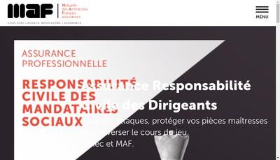 Site internet de MAF