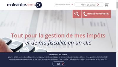 Site internet de MaFiscalite
