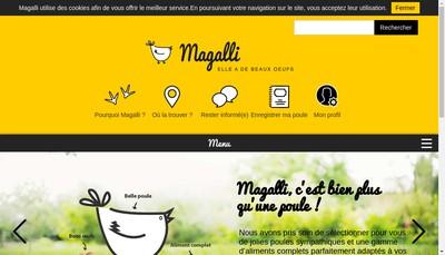 Site internet de Magalli