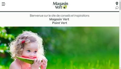 Site internet de Point Vert