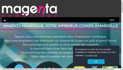 Site internet de Magenta